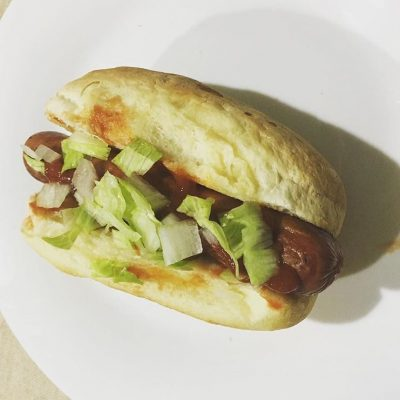 Receta de perrito caliente sin gluten