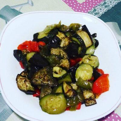Receta de Escalivada de verduras