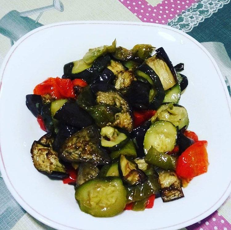 Escalivada de verduras