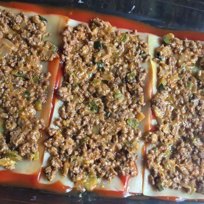 lasaña de carne sin gluten