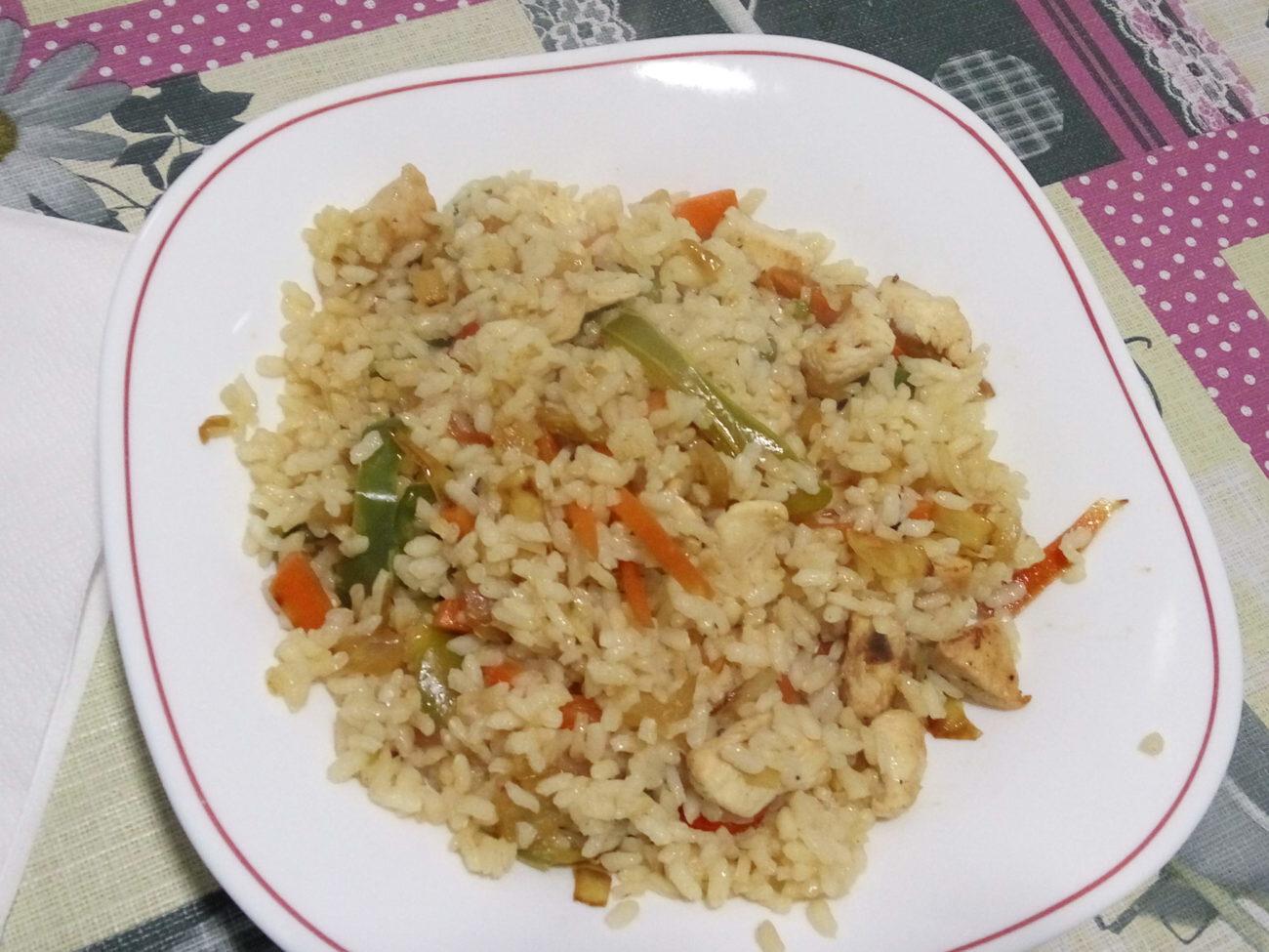 arroz blanco con pollo sin gluten la cocina sin gluten