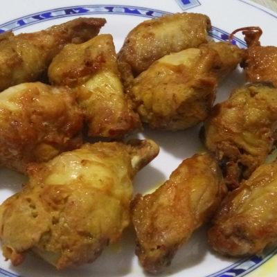 Alitas de pollo a la andaluza