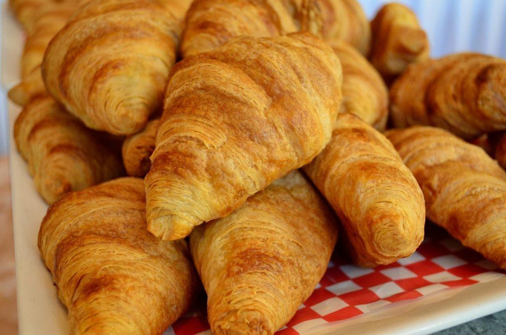 croissants de mantequilla  sin gluten