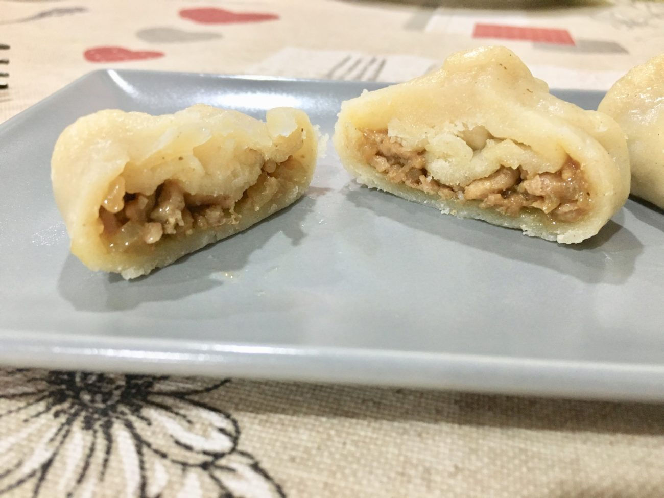 Dumplings de cerdo