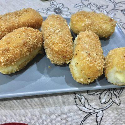 croquetas de patata y queso gouda
