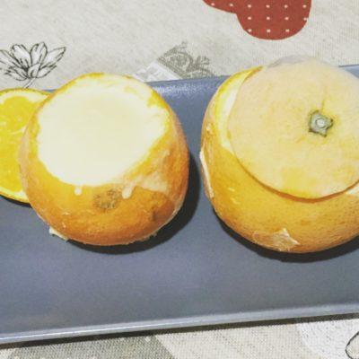 Naranjas heladas sin gluten