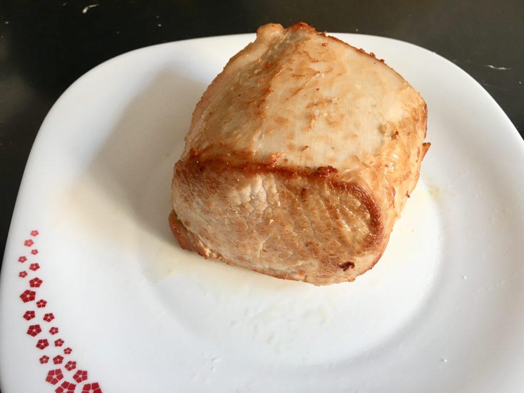 Carne mechada o carne mechá al estilo andaluz