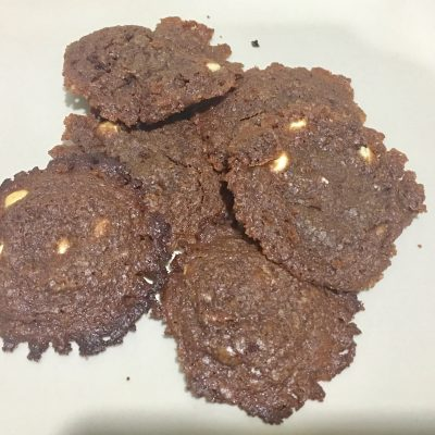 Cookies de nutella sin gluten