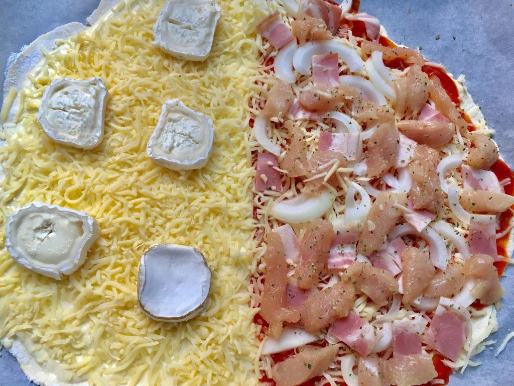 pizza formaggio sin gluten