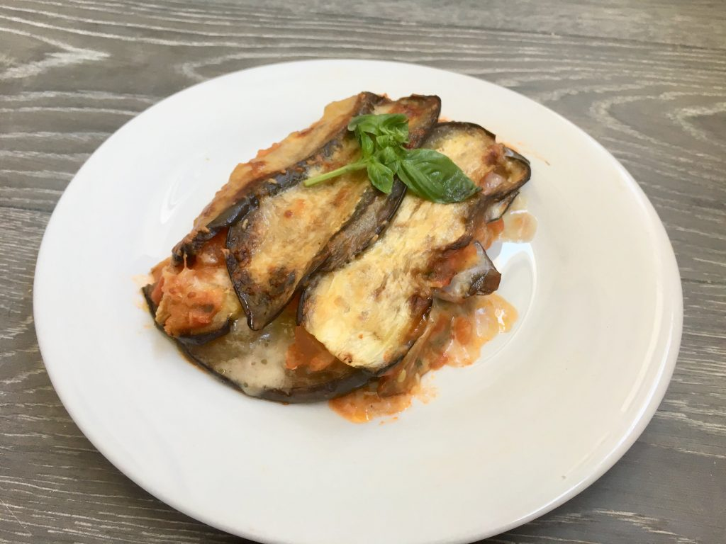 Receta de Berenjenas a la parmesana sin gluten
