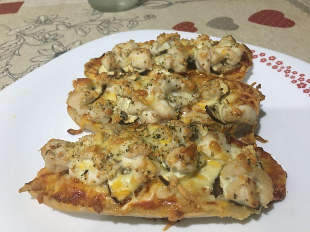 receta de Paninis de pollo con especias sin gluten