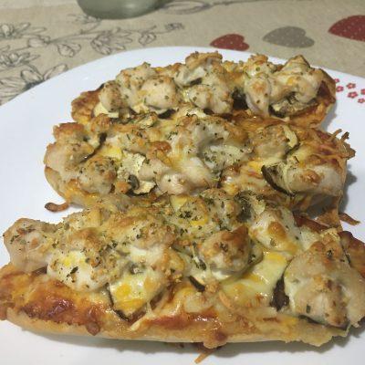 Paninis de pollo con especias