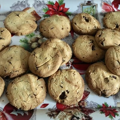 Receta de Cookies de chocolate sin gluten