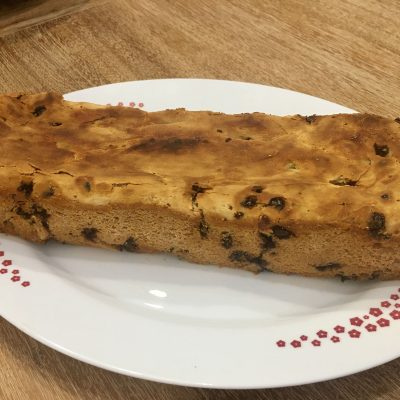 pan con chocolate sin gluten