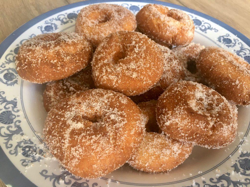 Rosquillas de anís sin gluten.