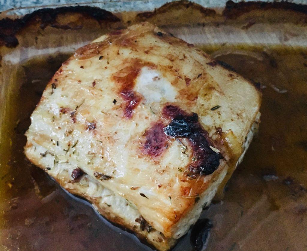 Lomo con salsa de ciruelas
