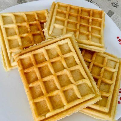Gofres belgas sin gluten